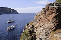 - Capraia island (Tuscan Archipelago), the harbour bay <br /> <br /> - isola di Capraia (Arcipelago Toscano), la baia del porto