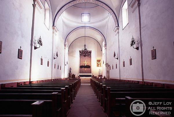 Mission San Jose in San Antonio, Texas.