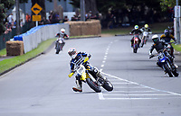 Richard Dibben (Supermoto). The 2018 Suzuki series Cemetery Circuit motorcycle racing at Cooks Gardens in Wanganui, New Zealand on Wednesday, 28 December 2018. Photo: Dave Lintott / lintottphoto.co.nz
