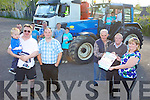 TRUCKING: Preparing for the truck and modern tractor show in Milltown on August 5th which will raise money for Crumlin Hospital, front l-r: Billy Sheehy, Padraig Clifford, Pat Cronin, James Clifford, Mary Healy. Back l-r: Jeremiah O'Sullivan, Kieran Brosnan, Gerard Naughton, Gerard Naughton, Jamie Brosnan, Jack Clifford, Patrick Clifford, Jack Healy.