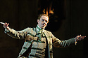 London, UK. 25.09.2015. English National Opera presents THE BARBER OF SEVILLE, by Gioachino Rossini, directed by Jonathan Miller, at the London Coliseum. Picture shows: Morgan Pearse (Figaro).  Photograph © Jane Hobson.