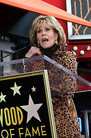 LOS ANGELES - MAR 16:  Jane Fonda at the RuPaul Star Ceremony on the Hollywood Walk of Fame on March 16, 2018 in Los Angeles, CA