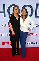 "31 July 2019 - Hollywood, California - Cindy Chupack, Cathy Schulman. Photo Call For Netflix's ""Otherhood"" held at The Egyptian Theatre. Photo Credit: FSadou/AdMedia"