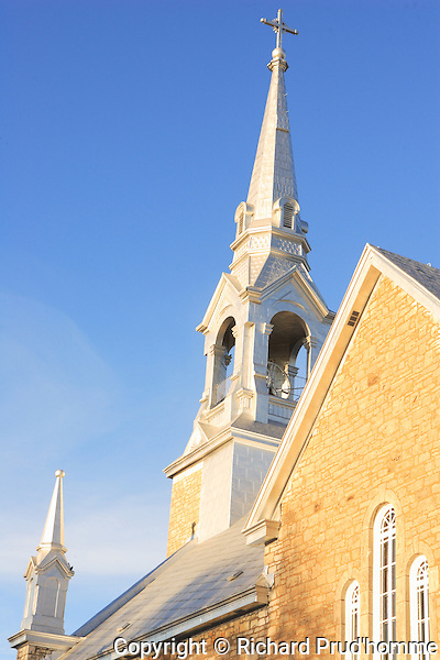 side of church steeple