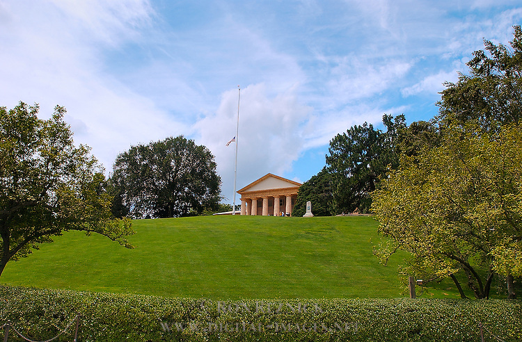 Arlington House, Robert E. Lee Memorial, Arlington National Cemetery, Arlington, Virginia