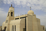 Israel, Lower Galilee, the new Maronite Church in Nazareth