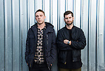 Odesza portraits in Seattle - Now completing world and national tours, the electronic duo (Clayton Knight and Harrison Mills) got their start in 2012 at Western Washington University as undergrads. photos by Seattle photographer Daniel Berman/www.bermanphotos.com