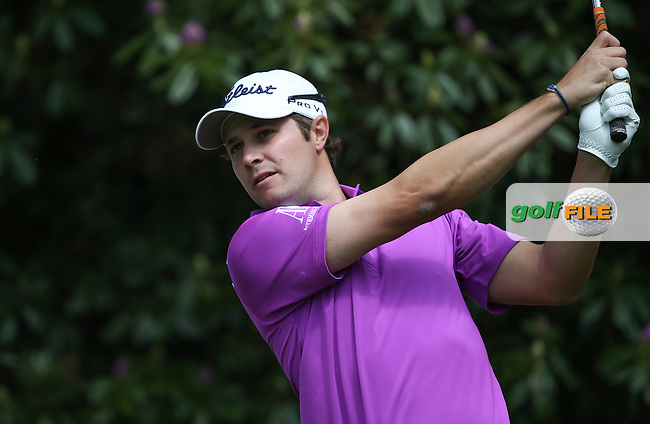 Peter UIHLEIN (USA) during Round One of the 2015 BMW PGA Championship over the West Course at Wentworth, Virginia Water, London. 21/05/2015Picture David Lloyd, www.golffile.ie.