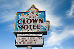 Clown Motel in Tonopah nevada.