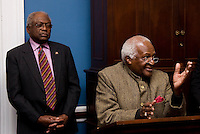 Desmond Tutu, James Clyburn. The 2010 US Soccer Foundation Gala was held at City Center in Washington, DC.