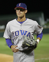 Iowa Cubs  OF Buck Coats during the 2007 Pacific Coast League Season. Photo by Andrew Woolley/ Four Seam Images.