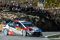 27th October 2019; Salou, Catalonia, Spain; World Rally Championship, Spain Rally;  Latvala