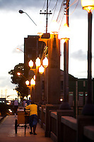 Recife_PE, Brasil..Ponte Mauricio de Nassau em Recife, Pernambuco..Mauricio de Nassau bridge in Recife, Pernambuco..Foto: JOAO MARCOS ROSA / NITRO