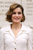 La Regina Letizia di Spagna, <br /> Reina consorte de Espana Letizia<br /> Queen Letizia of Spain<br /> Roma 12-06-2015. 39° Conferenza della FAO.<br /> 39th Conference of FAO.<br /> Photo Samantha Zucchi Insidefoto