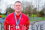 Marathon Runner : Willie Guiney who ran in the Dublin City marathon recently.