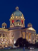 Parlament, Belgrad, Serbien, Europa<br /> parliament, Belgrade, Serbia, Europe