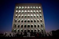 Roma, 5 Giugno, 2013. Il Palazzo della Civilta Italiana.