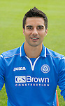 St Johnstone FC 2013-14<br /> Rory Fallon<br /> Picture by Graeme Hart.<br /> Copyright Perthshire Picture Agency<br /> Tel: 01738 623350  Mobile: 07990 594431
