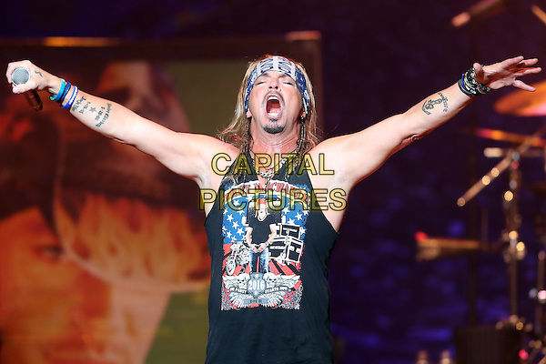 JACKSONVILLE, FL - DECEMBER 30: Bret Michaels performs during Bret Michaels The New Year&rsquo;s Party Starts Now Tour at The Florida Theatre in Jacksonville, Florida on December 30, 2016. <br /> CAP/MPI34<br /> &copy;MPI34/Capital Pictures