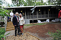 Tulane dedicates The Steward's Cottage at Studio in the Woods