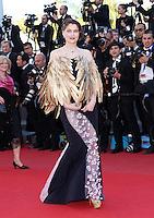 "Laetitia Casta attends "" Zulu "" 1ere & Closing Ceremony of the 66th Cannes Film Festival"