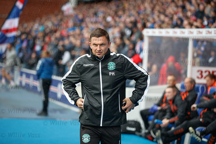 11.08.2019 Rangers v Hibs: Paul Heckingbottom