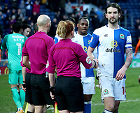 Blackburn Rovers' Charlie Mulgrew at the end of todays match<br /> <br /> Photographer Rachel Holborn/CameraSport<br /> <br /> The EFL Sky Bet League One - Blackburn Rovers v Oldham Athletic - Saturday 10th February 2018 - Ewood Park - Blackburn<br /> <br /> World Copyright &copy; 2018 CameraSport. All rights reserved. 43 Linden Ave. Countesthorpe. Leicester. England. LE8 5PG - Tel: +44 (0) 116 277 4147 - admin@camerasport.com - www.camerasport.com
