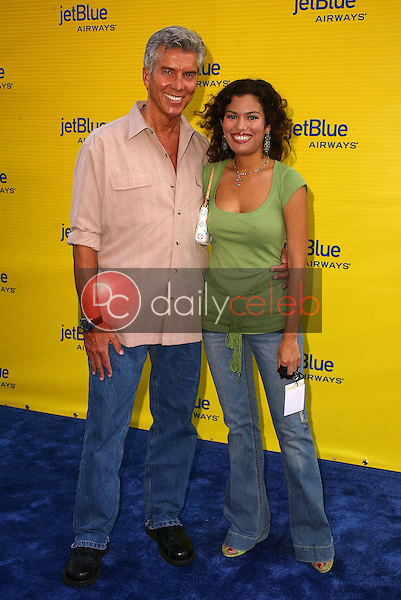 Michael Buffer and Christina Prado<br />