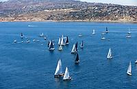 2017 TRANSPAC<br /> START  07_02_17<br /> &copy; Sharon Green / Ultimate Sailing