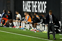 10th July 2020; Craven Cottage, London, England; English Championship Football, Fulham versus Cardiff City; Fulham Manager Scott Parker