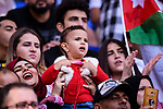 Fans of Jordan cheers during the AFC Asian Cup UAE 2019 Round of 16 match between Jordan (JOR) and Vietnam (VIE) at Al Maktoum Stadium on 20 January 2019 in Dubai, United Arab Emirates. Photo by Marcio Rodrigo Machado / Power Sport Images