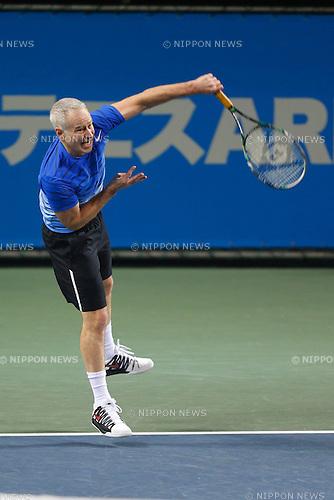 John McEnroe (USA), NOVEMBER 17, 2013 - Tennis : Dream Tennis ARIAKE Men's Singles at Ariake Coliseum, Tokyo, Japan. (Photo by AFLO SPORT) [0006]