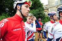 Picture by Simon Wilkinson/SWpix.com 05/09/2017 - Cycling OVO Energy Tour of Britain - Stage 3 Normanby Hall to Scunthorpe - the start at Normanby Hall, Lincolnshire<br /> Chris LAWLESS