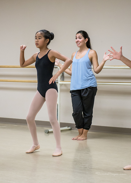 Aspiring Dancers Workshop, Rehearsal for Parents Performance. 24 July 2015