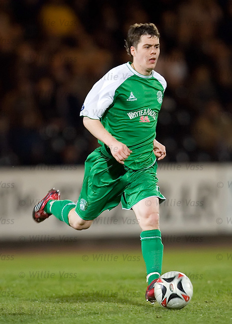 Ross Chisholm, Hibs.stock season 2006-2007.pic willie vass