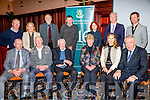 Pictured at the launch of the 1916 Calendar in the Ring of Kerry Hotel on Saturday were front l-r; Maurice O'Keeffe, Diarmuid Ring, Donal Keating, Kathleen Keating, Kay Kennelly, Minister Jimmy Deenihan, back l-r; Junior Murphy, Cllr. Norma Moriarty, Denis Barrett, Gerard Twomey, Anne Marie Wragg, Sean Keating & Muiris Crowley.