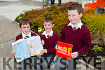 Lyreacrompane ns Pictured l-r David Roche, Darragh Long and Conor McMahon who took part in the Junior Entrepreneur Programme 2015.The boys started a business by making and selling bookmarks in school