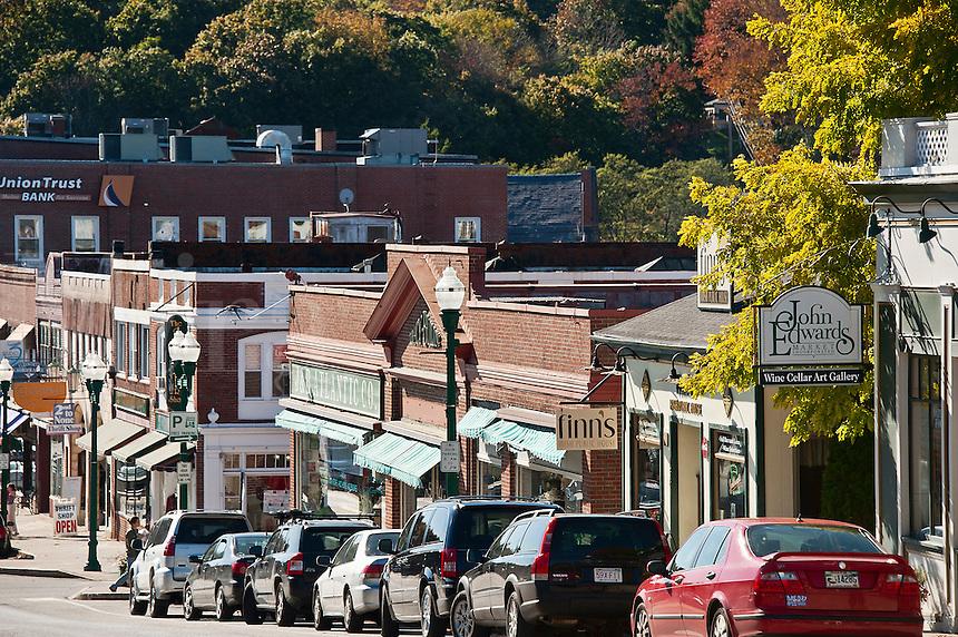 Main Street, Ellsworth, Maine, ME, USA