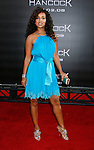 "Actress LisaRaye McCoy arrives to The World Premiere of Columbia Pictures' ""Hancock"" at the Grauman's Chinese Theatre on June 30, 2008 in Hollywood, California."