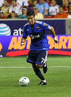 Javier Morales in the MLS All Stars v Everton 4-3 Everton win at Rio Tinto Stadium in Sandy, Utah on July 29, 2009