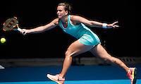 BARBORA STRYCOVA (CZE)<br /> <br /> TENNIS , AUSTRALIAN OPEN,  MELBOURNE PARK, MELBOURNE, VICTORIA, AUSTRALIA, GRAND SLAM, HARD COURT, OUTDOOR, ITF, ATP, WTA<br /> <br /> &copy; TENNIS PHOTO NETWORK