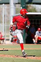 Billy Hamilton - Cincinnati Reds 2009 Instructional League. .Photo by:  Bill Mitchell/Four Seam Images..