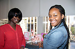 Scholars with Nicki Minaj perfume as they see the perfume business from sent, packaging, making - The Soledad O'Brien & Brad Raymond Starfish Foundation scholars from all over the country gathered in New York City, New York on July 25, 2014 at the Sensorium, Firmenich International Fine Fragrance where four mentors talked to the students - they were presented with their own fragrance. (Photo by Sue Coflin/Max Photos)
