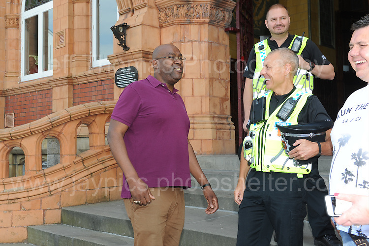 Film director Cass Pennant at the Red House during the Merthyr Rising Festival 2016 in Merthyr Tydfil on Saturday June 4th and Sunday June 5th 2016. <br /> <br /> <br /> Jeff Thomas Photography -  www.jaypics.photoshelter.com - <br /> e-mail swansea1001@hotmail.co.uk -<br /> Mob: 07837 386244 -