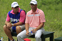 Ryan PALMER (USA) waits to tee off the 2nd tee during Thursday's Round 1 of the 2014 PGA Championship held at the Valhalla Club, Louisville, Kentucky.: Picture Eoin Clarke, www.golffile.ie: 7th August 2014