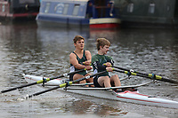Race: 3: J14A.2x  [49]Exeter RC - EXE-Wickham vs [50]City of Bristol RC - CBR-Okraffka<br /> <br /> Gloucester Regatta 2017 - Saturday<br /> <br /> To purchase this photo, or to see pricing information for Prints and Downloads, click the blue 'Add to Cart' button at the top-right of the page.