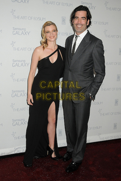 10 January 2015 - Santa Monica, California - Amy Smart, Carter Oosterhouse. The Art of Elysium&rsquo;s 8th Annual Heaven Gala held at Hangar 8.   <br /> CAP/ADM/BP<br /> &copy;Byron Purvis/AdMedia/Capital Pictures