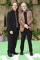 "David Sproxton and Peter Lord<br /> arriving for the ""Early Man"" world premiere at the IMAX, South Bank, London<br /> <br /> <br /> ©Ash Knotek  D3369  14/01/2018"