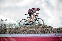 Rob Peeters (BEL/Sauzen Pauwels-Vastgoedservice)<br /> <br /> men's race<br /> CX Soudal Classics Leuven/Belgium 2017