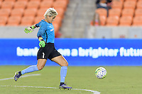 Houston, TX - Thursday Aug. 18, 2016: Bianca Henninger during a regular season National Women's Soccer League (NWSL) match between the Houston Dash and the Washington Spirit at BBVA Compass Stadium.